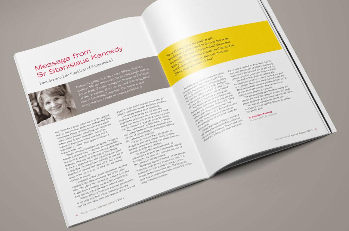 Focus Ireland Annual Report 2011 - 4